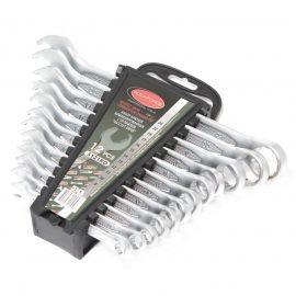 Набор ключей комбинированных с профилем »Ratchet Drive»-»быстрый ключ», 12пр. (8, 10-17, 19, 22, 24мм), в пластиковом держателе