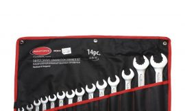 Набор ключей комбинированных с профилем »Super Drive» 12гр.,14пр. (10-19, 21, 22, 30, 32мм), на полотне