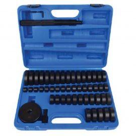 Набор инструментов, оправок для монтажа подшипников, втулок, сальников, 51пр.(18-65мм с шагом 1мм, 75мм)