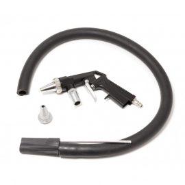 Пистолет пескоструйный пневматический (сопло: 4.5, 5мм, шланг со щупом для песка-1м, расход воздуха 160 л/мин), в блистере