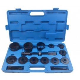 Набор инструментов для замены ступичных подшипников 17пр.(диаметры:55.5, 59, 62, 65, 66, 71.5, 73, 78, 84) в кейсе