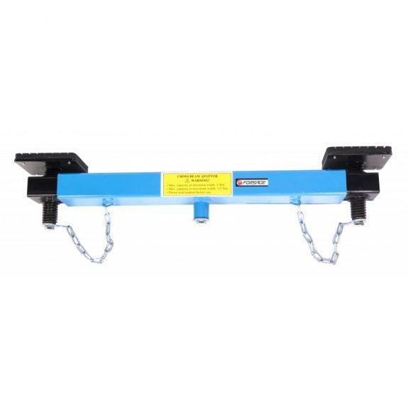 Балка-адаптер раздвижная для подкатных домкратов 2т (общая длина: 700 — 1050мм)