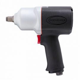 Пневмогайковерт ударный »Twin Hammer»с реверсом и регулировкой усилия в облегченном корпусе 1/2»(1492Hм, 9000 об/мин, 125 л/мин,вес 2.1кг)