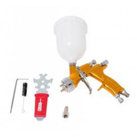 Краскораспылитель »Profi»с верхним пластиковым бачком (600мл, 1.4мм, 2.5bar, 142-198л/мин, присоед. резьба 1/4»+штуцер)