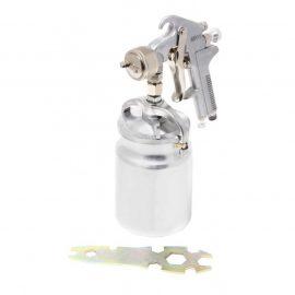 Краскораспылитель с нижним металлическим бачком (1000мл, 1.8мм, 4.0bar, 85-114 л/мин, присоед. резьба 1/4»)