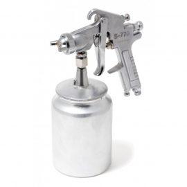 Краскораспылитель с нижним металлическим бачком (1000мл, 2.5мм, 5 bar, 85-113 л/мин, присоед. резьба 1/4»)