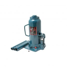 Домкрат бутылочный двухштоковый с клапаном ,8т (h min 270мм, h max 635мм)