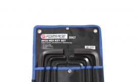 Набор ключей Г-образных 6-гранных 6пр. (12, 14, 17, 19, 22, 24мм)на полотне