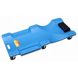 Лежак для автослесаря пластиковый на 6-ти колесах 40»(1050х490х95мм)