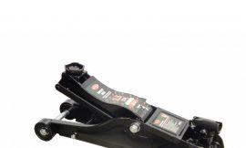 Домкрат подкатной гидравлический 2.5т низкопрофильный с поворотной ручкой 360° (h min 89мм, h max 359мм), в кейсе