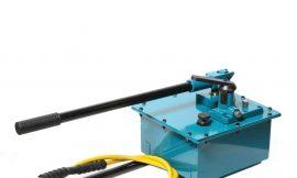 Насос гидравлический ручной (20-700bar,емкость масла-7.5л, длина-740мм,ширина-310мм,высота-330мм)