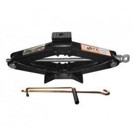 Домкрат механический »ромб»с резиновой накладкой 1т (h min 100мм, h max 350мм, L-385мм)