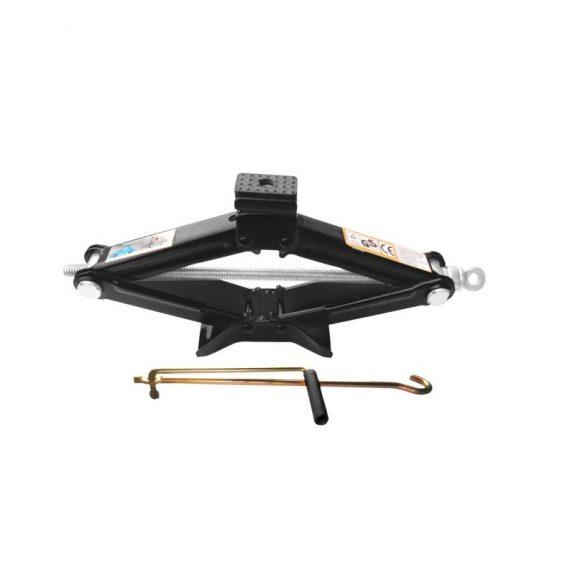 Домкрат механический »ромб»с резиновой накладкой 1.5т(h min 110мм, h max 393мм, L-415мм)