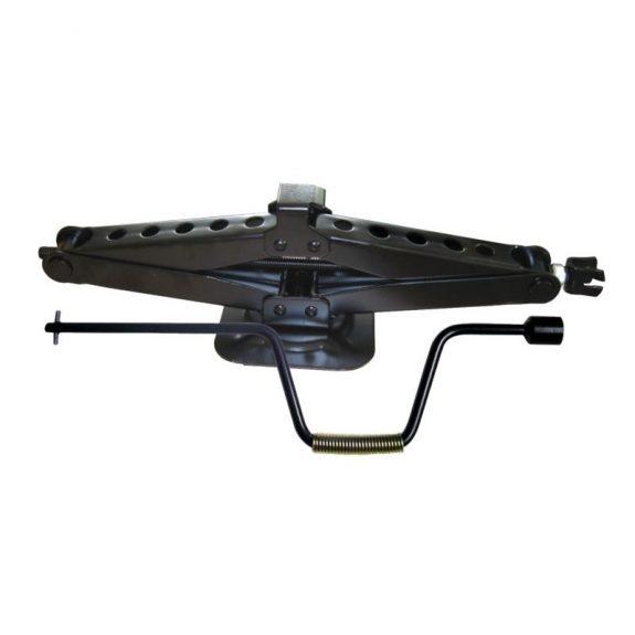 Домкрат механический »ромб»2т с ручкой-воротком и головкой 19мм (h min 104мм, h max 495мм, L-535мм)
