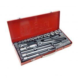 Набор инструментов 52пр. 1/4», 1/2»(6гр.) (4-30мм) в металлическом кейсе