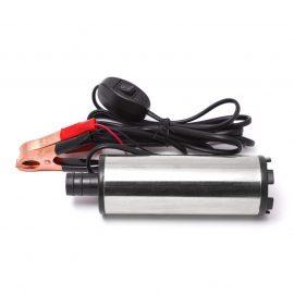 Насос для перекачки топлива (12В, диам. 51 мм, мощность 60Вт, 30 л/мин., диам. выходного отверстия 19мм, 8500 об/мин, длина провода 3м)