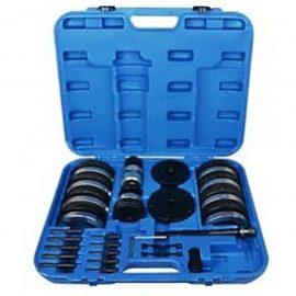 Набор инструментов для ступичных подшипниковVAG(ø62 мм:VWLupo,AudiA2 1.21,ø66 мм:VWPolo,Fabia,ø72 мм:VWPolo,Fabia,ø85 мм:VWT5/Touareg/Multivan)в кейсе