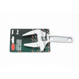 Ключ разводной аллюминиевый для соединений с минимальным усилием затяжки 5»-125мм (захват 16-68мм), на блистере