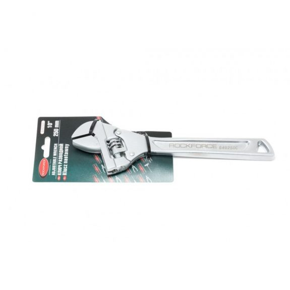 Ключ разводной с шарнирным механизмом для быстрого подбора размера захвата 10»-250мм(захват 0-36мм), на блистере