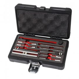 Набор инструментов для демонтажа разборных подшипников(Ø вставок: 5.5, 6, 8мм), в кейсе »Pemium»