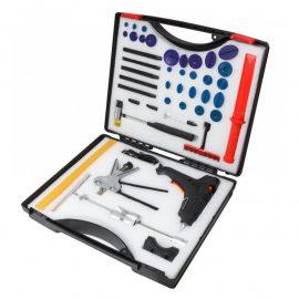 Набор инструментов для беспокрасочного удаления вмятин с термопистолетом 49пр., в кейсе