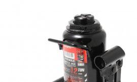 Домкрат бутылочный 10т низкопрофильный с клапаном (h min-160мм, h max-290мм, ход штока-80мм, ход винта-50мм)