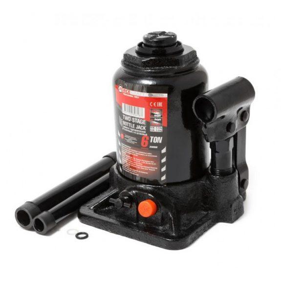 Домкрат бутылочный двухштоковый с клапаном 2т(h min-160мм, h max-340мм, ход штока-180мм)