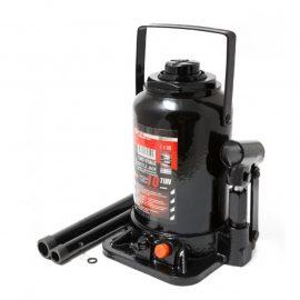 Домкрат бутылочный двухштоковый с клапаном 10т(h min-220мм, h max-510мм, ход штока-230мм, ход винта-60мм)