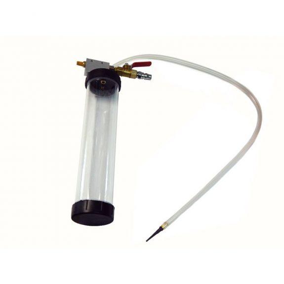 Пресс-масленка пневматическая с гибким шлангом, 800мл(L шланга: 700мм)