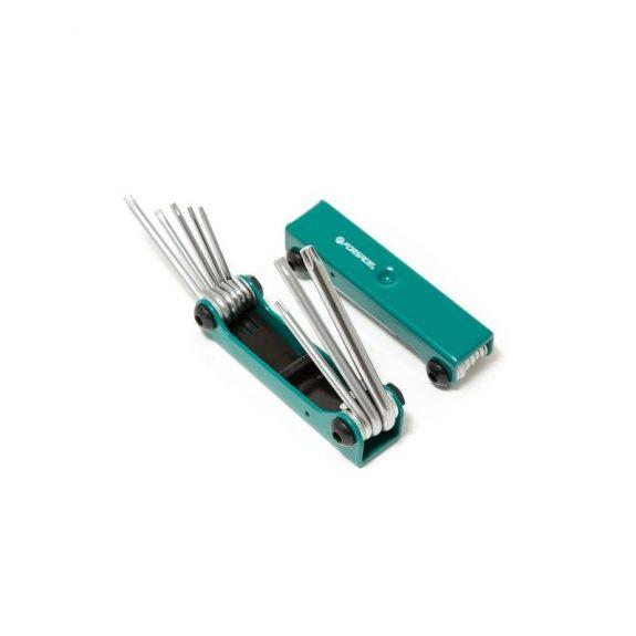 Набор ключей TORX складной, 8пр.(T9, T10, T15, T20, T25, T27, T30, T40)