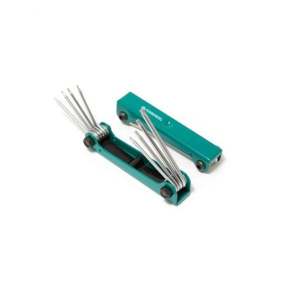 Набор ключей TORX складной 8пр.(T5H-T10H, T15H, T20H c отверстием)