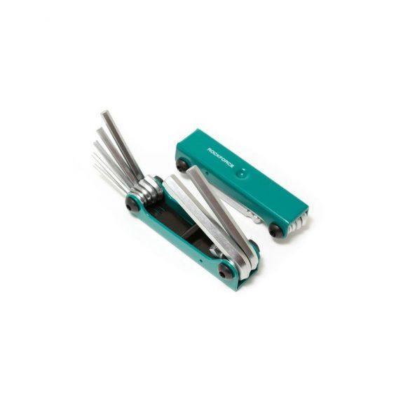 Набор ключей 6-гранных складной, 7пр.(2.5, 3- 6, 8, 10мм)