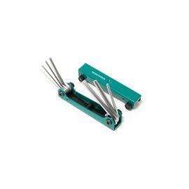 Набор ключей 6-гранных складной, 7пр.(1.5, 2, 2.5, 3-6мм)