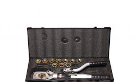 Инструмент гидравлический 3в1 6.5т (max Ø резки:40мм, пробойник:22,27,34,43,49,60мм, обжимка: 16,25,35,50,70,95,120,150,185,240,300ммход,штока:42мм)