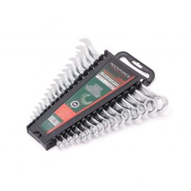 Набор ключей комбинированных 16пр. 6гр.(6-19, 22, 24 мм), в пластиковом держателе