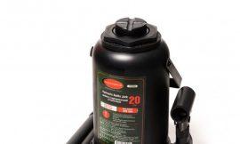Домкрат бутылочный 20т с клапаном (высота подхвата — 235мм, высота подъема — 440мм, ход штока — 205мм)т
