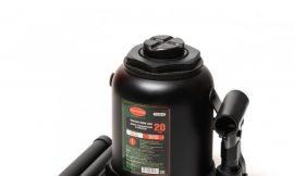 Домкрат бутылочный 20т низкопрофильный (высота подхвата — 190мм, высота подъема — 335мм, ход штока — 145мм