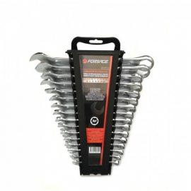 Набор ключей комбинированных 6гр.,16пр. (6-19, 22, 24 мм), в пластиковом держателе