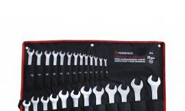 Набор ключей комбинированных 6гр., 26пр. (6-28, 30, 32мм), на полотне