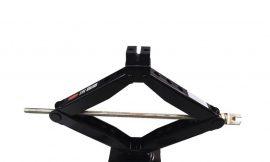 Домкрат механический »ромб»2,5т с резиновой накладкой и ручкой-воротком с головкой 19мм (h min-100мм h max-485мм), в водоотталкивающем чехле