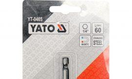 Держатель магнитный 60мм для бит 1/4»»Yato»,YT-0465