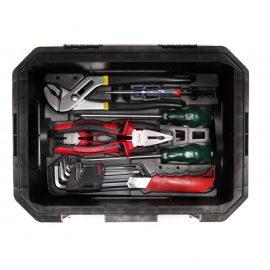 Набор инструментов универсальный 7пр.(набор шестигранников,отвертка-2 шт,отвертка индикаторная,пассатижи переставные, кусачки,нож)в лотке