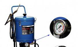 Нагнетатель густой смазки электрический( 25л,220V,1,1кВт,0,35 л/мин,250-400 Bar,длина шланга 4м,раб.t-10гр.+50гр)