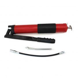 Шприц для нагнетания густой смазки ручной »Profi»600мл в комплекте с жестким и гибким наконечниками
