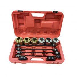 Набор инструментов для снятия и установки втулок, подшипников и сайлентблоков универсальный, 26пр. (М10, М12, М14, М16) в кейсе