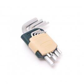 Набор ключей 6-гранных Г-образных, 10пр.(1.27, 1.5, 2, 2.5, 3-6, 8, 10мм) в пластиковом держателе