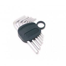 Набор ключей 6-гранных Г-образных 7пр.(1.5, 2, 2.5, 3, 4, 5, 6мм)в пластиковом держателе