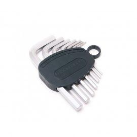 Набор ключей Г-образных 6-гранных 7пр.(2.5, 3-6, 8, 10мм) в пластиковом держателе