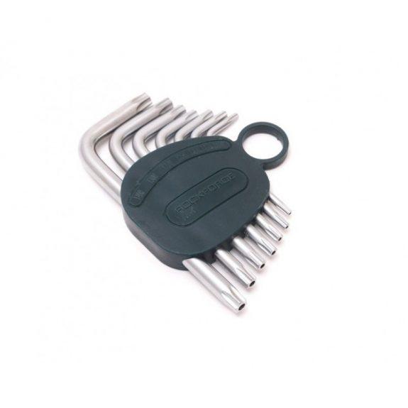 Набор ключей Г-образных TORX 7пр.(Т10Н,Т15Н,Т20Н,Т25Н,Т27Н,Т30Н,Т40Н-с отверстием) в пластиковом держателе