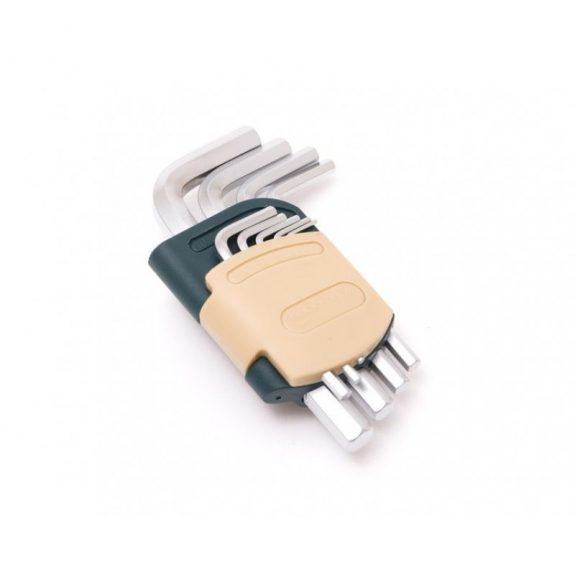 Набор ключей Г-образных 6-гранных, 9пр. (1.5, 2, 2.5, 3-6, 8, 10мм) в пластиковом держателе